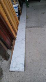 Silestone Quartz Marble Splash back/Shelf