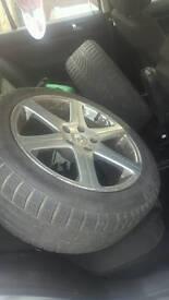 5 studded wheels