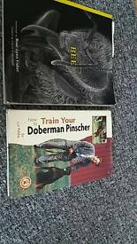 BOOKS how to train your Doberman Pinscher..BEE