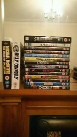 DVDS, films and Billy Connolly and Michael Macintyre box sets