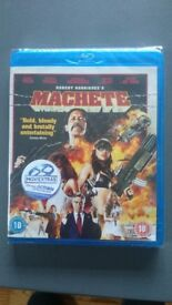 BluRay, Machete, New And Sealed, £3