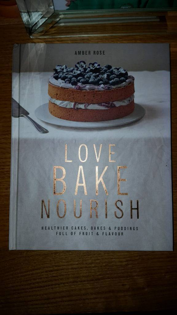 Brand new baking book