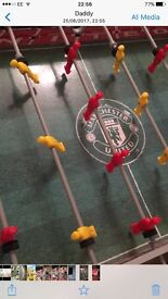 Football table kids Manchester United