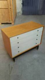 G plan E Gomme chest of drawers