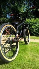Total BMX Matte black complete