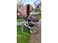 BRITAX TRAVEL SYSTEM including car seat and pushchair