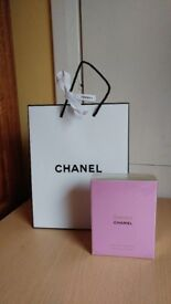 Chanel Chance edt 100ml sealed and with gift bag
