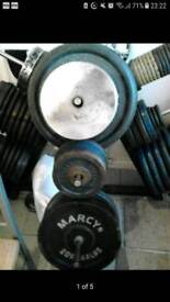 weights, bars, dumbbells for sale. PLEASE READ!