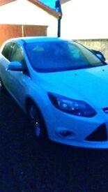 Car Ford Focus Zetec Ecoboost