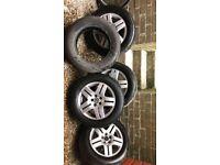Golf Wheels & Tyres