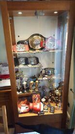 Large display trophy cabinet