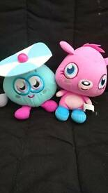 Moshi monsters Poppet and Wurley