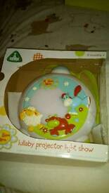 Babys projector lullaby light show