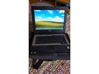 DELL INSPIRON 1300 LAPTOP + CASE + WINDOWS XP HOME EDITION