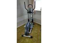 Bremshey Sport Orbit Plus Elliptical Trainer complete with charger and ear clip pulse monitor.