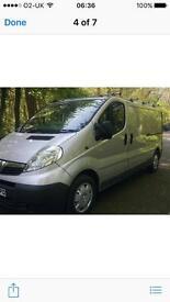 2010 Vauxhall vivaro 2.5 cdti lwb **only 57k**