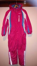 Girls Ski Suit age 9-10years