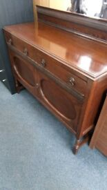 Vintage 2 door 2 drawer sideboard