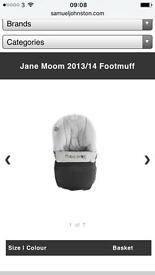 Jane moon footmuff