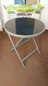 Aluminium Glass Table