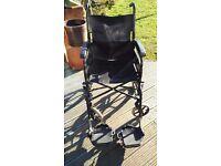 Folding wheel chair PLUSS AP100