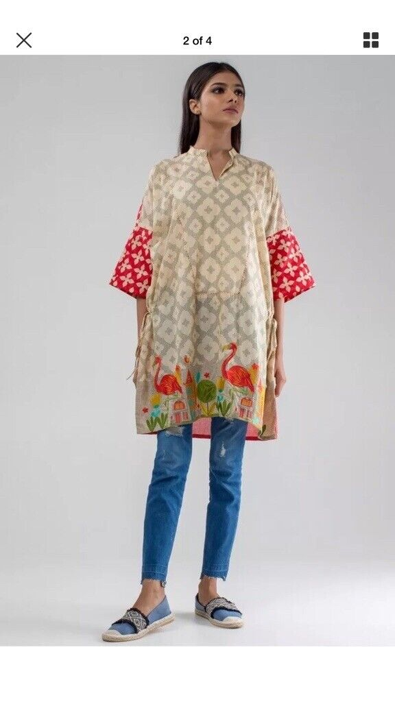 276ed47048 Brand new Khaadi Ladies too/ kurti Embroidered Size 6 and 10 | in ...