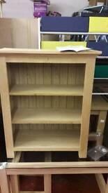 Knightsbridge oak small book shelf