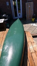 Old town 16.9 canoe with 2 paddles and Life vests