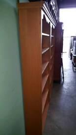 Big open bookcase
