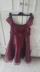 Festive dress girl age 7-8