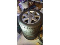 Winter wheels and tyres for VW/Audi/Seat/Skoda 205/55/16 Uniroyal Volkswagen