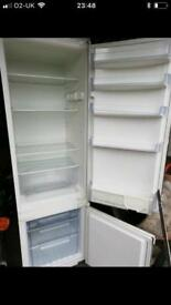 Fridge freezer. Built in.