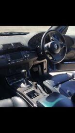 """BMW X5 2006 (56 reg) 3.0D (diesel). """"Le Mans Blue""""."""
