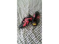 Adidas x football boots size 5
