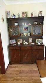 Dresser. Dining room table. Corner unit. Hall table