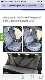 VW Golf MK6 SEAT COVERS