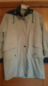 Ladies rain coat size 12
