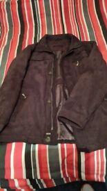 Saxon Suede Jacket