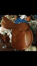"""17"""" tan wintec CC saddle"""