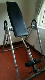 Kettler inversion table....Sport table brand new
