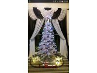 White Fibre Optic Tree