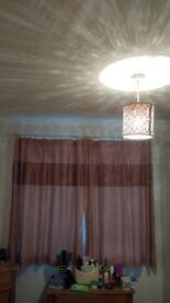 Pencil Pleat Curtains 137 cm drop Dunlemn