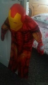ironman dressing up costume