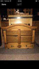 Quality Mexican pine wall unit in excellent Con Reduced **