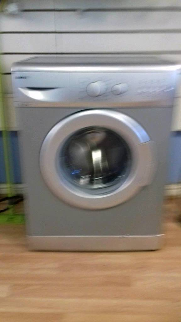 Beko silver washer can deliver
