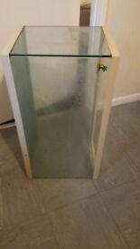 Marina fish tank.
