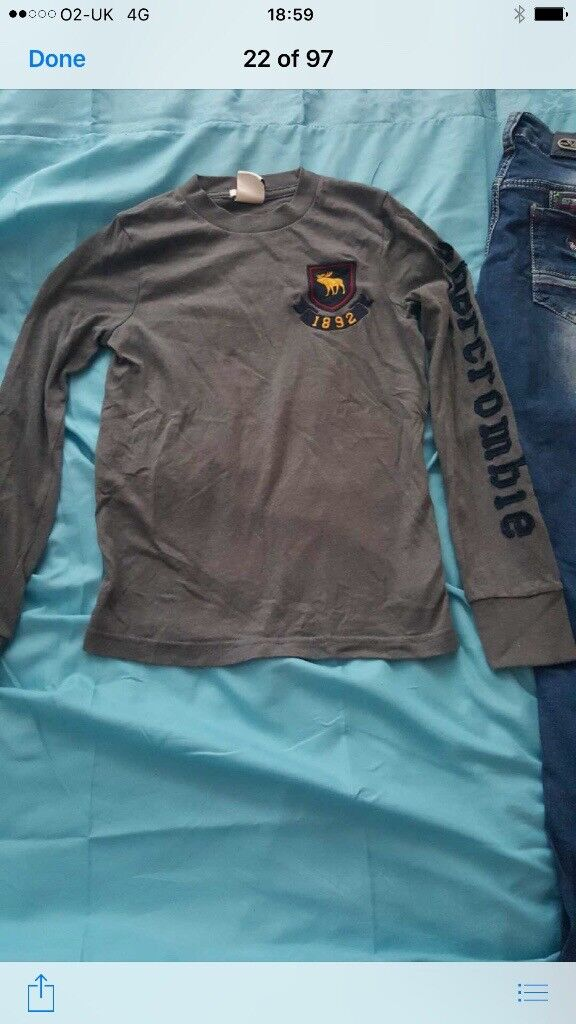 Boys Armani jeans and top