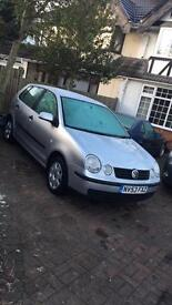 2003 1.2 petrol Silver 5 door VW Polo for sale!!!
