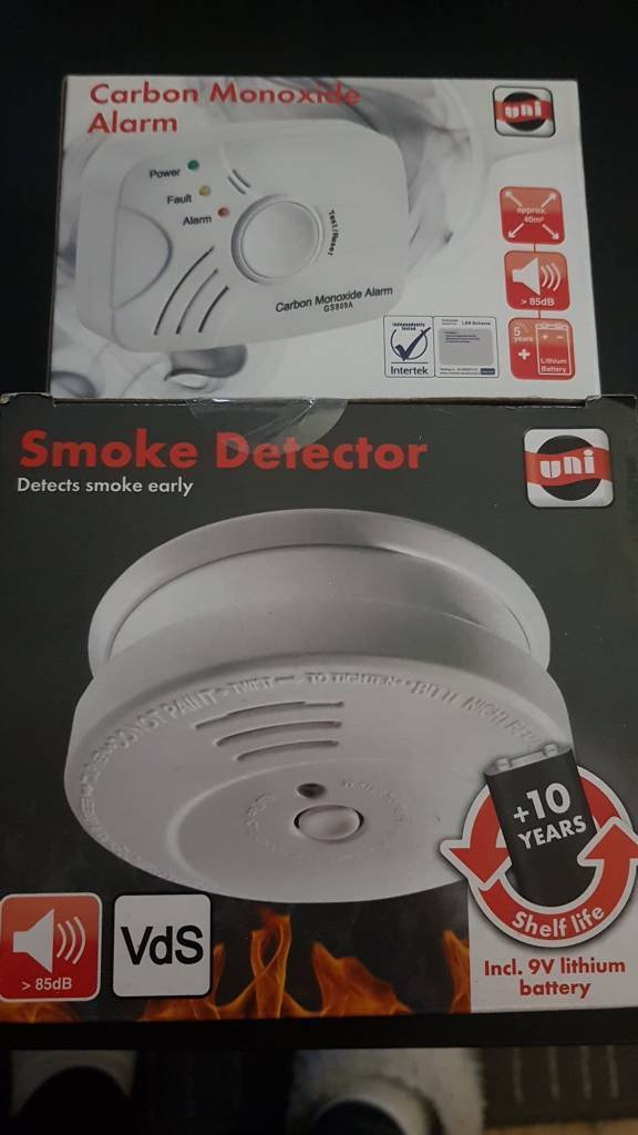 Smoke detector&carbon monoxide alarm