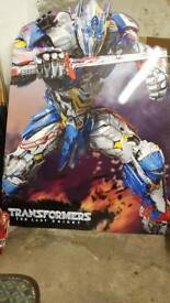 Large optimus prime cut out